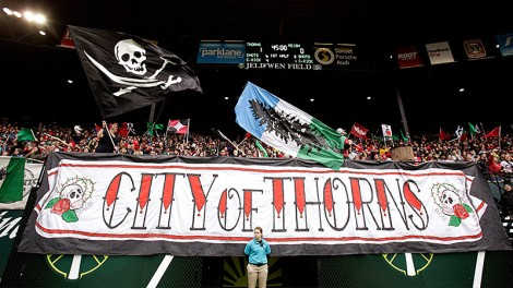 Fans of the Portland Thorn are known for showing up in force for their team. (Photo: espnW)
